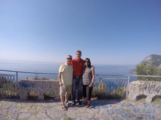 Scialone Limousines: Amalfi Coast-Tony, Yvonne & Francesco-3 July 2015 (from Melbourne, Australia)
