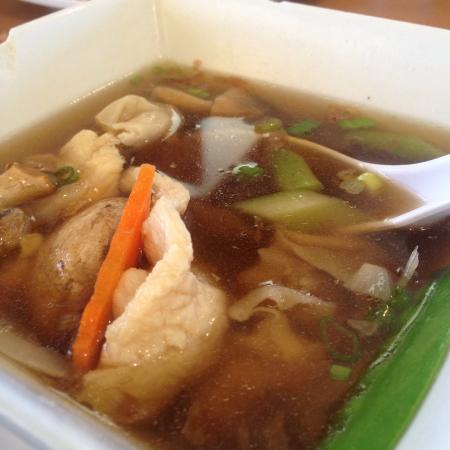 Zheng Zhong Chinese Restaurant Fried Rice And Won Ton