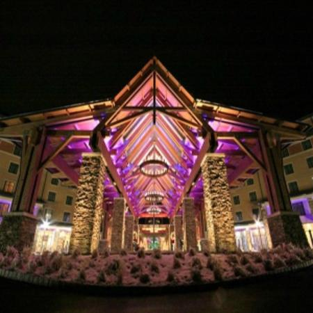 Mount Pocono, PA: Mount Airy Caino Resort entrance
