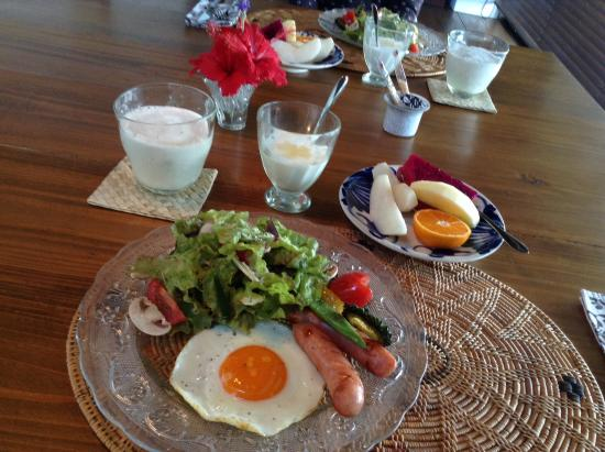 Villa Suara Nakijin: 朝食