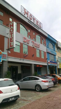 Hotel De' Tees: 外観