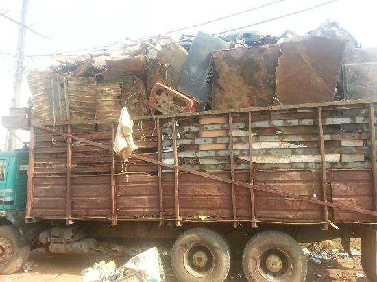 Bamako city centre, market