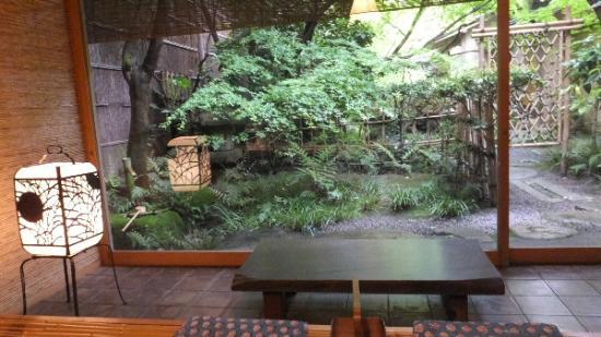 Tawaraya Ryokan : 翠からのお庭