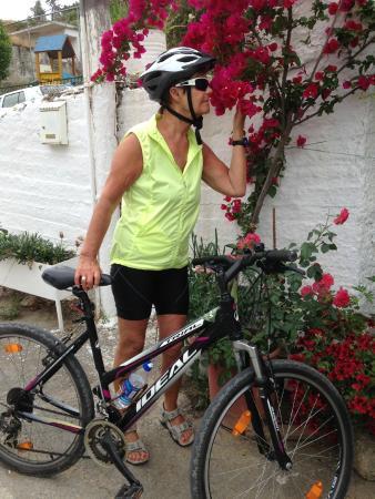 Hotel Erato: På sykkeltur i nærområdet 30km på 2 dgr...