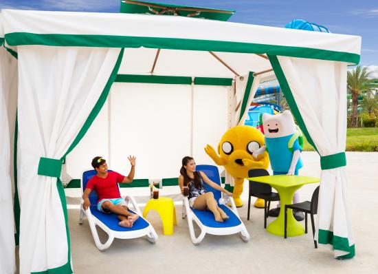 View from Mega Wave Pool - Picture of Cartoon Network Amazone, Jomtien Beach ...