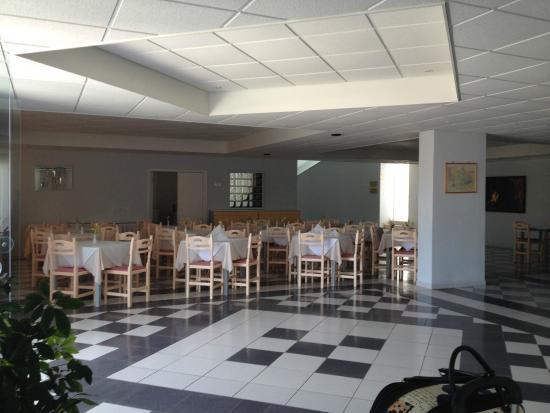 Eleana Hotel: Étkező rész és recepció