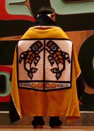 Sitka Tribe Dance Performances: Tinglit dancer