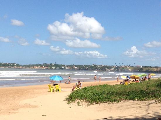 Nova Almeida, ES: Outro ângulo da praia
