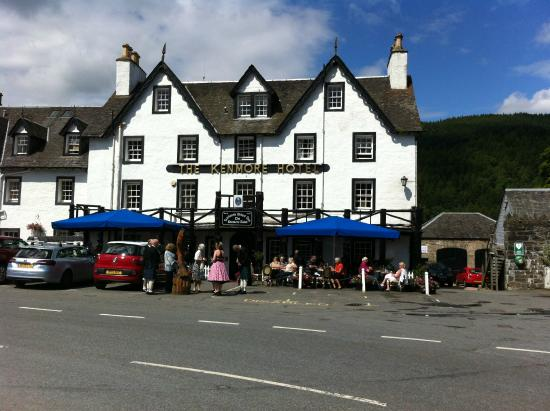 Kenmore United Kingdom  city photo : ... from front of hotel Picture of Kenmore Hotel, Kenmore TripAdvisor