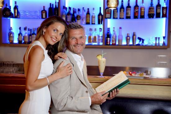Hotel Stroblhof: Cocktail & wine bar
