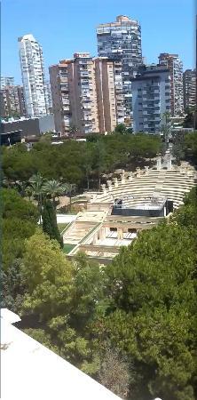 Magic Cristal Park Hotel: Vistas al parque l´Aigüera