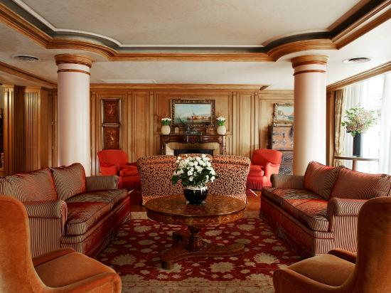 De Vigny Hotel: Lobby