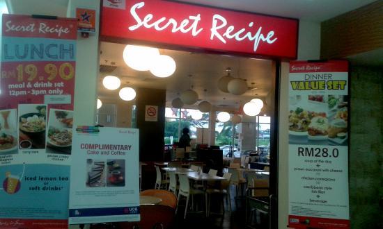 Secret Recipe Sungai Petani Restaurant Reviews Photos Phone Number Tripadvisor