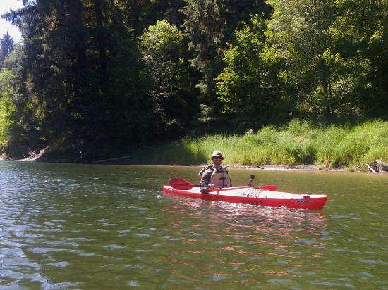 Rainforest Paddlers : On the Quillayute