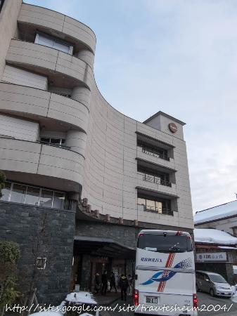 Tsukioka Hotel: 月岡ホテル外観