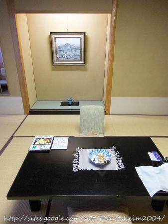 Tsukioka Hotel: 月岡ホテルの一部屋