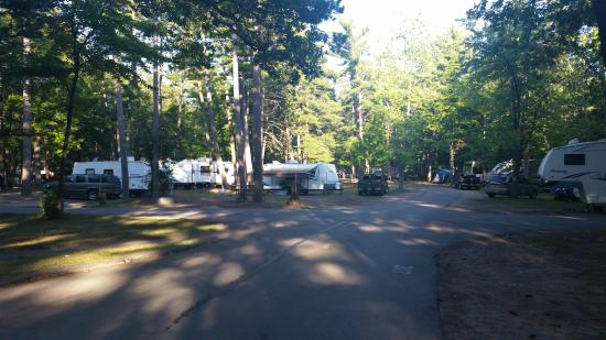 Traverse City State Park : campground