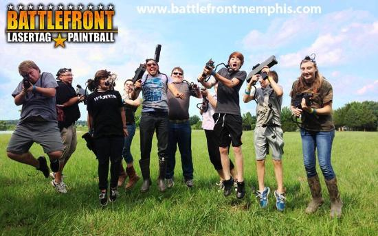 ‪Battlefront Lasertag & Paintball‬