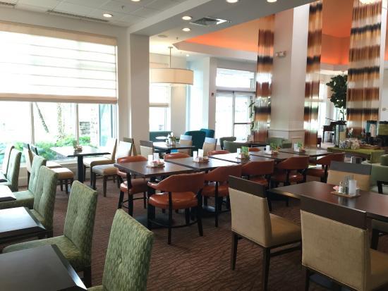 Restaurant Picture Of Hilton Garden Inn Hamilton Hamilton Tripadvisor