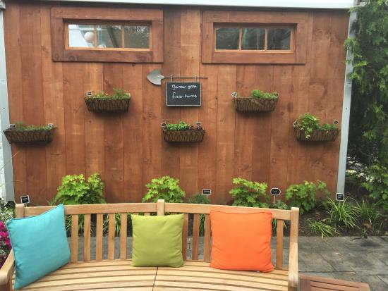 Cute Herb Garden Picture Of Hilton Garden Inn Hamilton