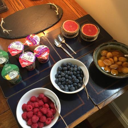 Woodville B&B Ballindalloch : Breakfast