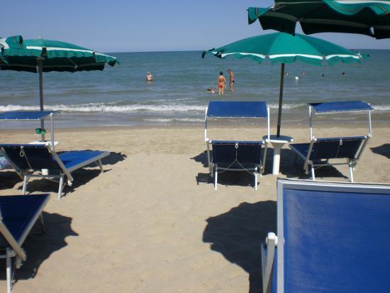 Hotel Galf: Kleiner feiner Strandabschnitt
