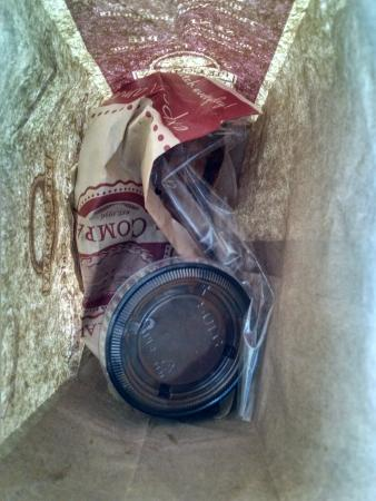 Grand Traverse Pie Company : Pitiful pasty - cold, dry and thrown in a bag... yuck