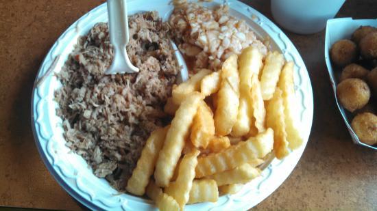 Country BBQ: Pork Plate