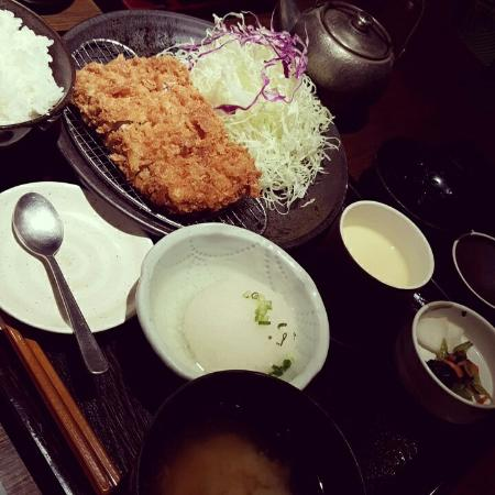 Wako Celeo Hachioji: おろしとんかつ御膳+茶碗蒸し