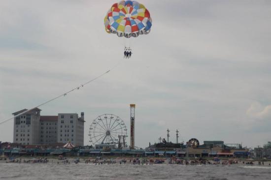 FlyOCNJ Parasail: parasailing 2015