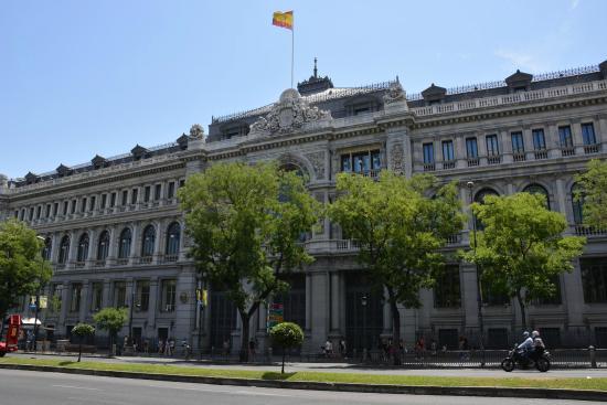 Banco De Espana Picture Of Banco De Espana Madrid