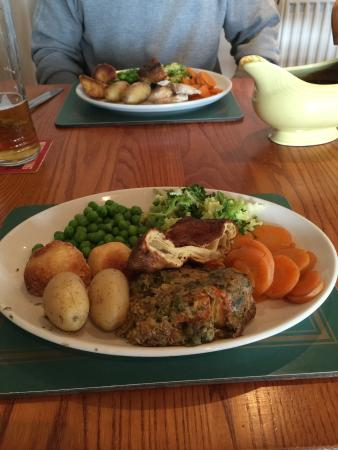 Huntley, UK: Nut roast