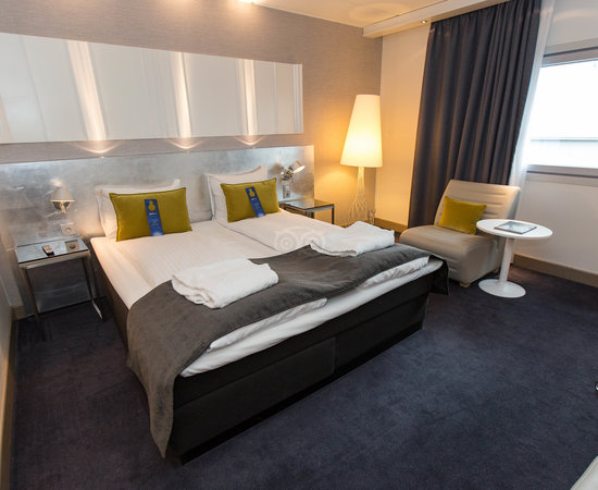 The Business Class at the Radisson Blu Airport Hotel, Oslo Gardermoen