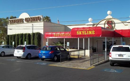 Skyline Casino: Rear Entrance