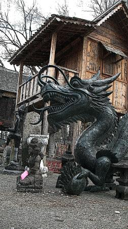 Great Barrington, MA: dragons