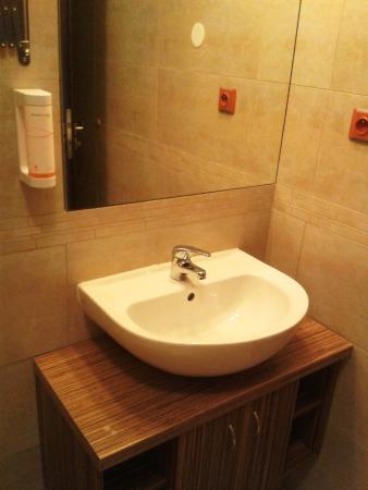 Hotel Zebetinsky Dvur Brno: Bathroom