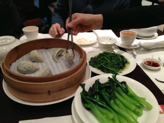 Din Tai Fung (Shanghai New World): mantı