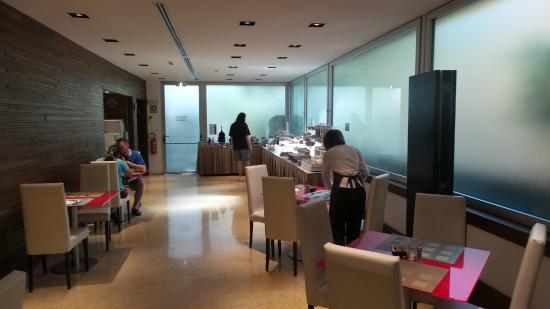 Breakfast Picture Of Hilton Garden Inn Rome Claridge Rome Tripadvisor
