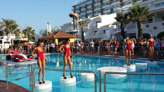 Ushuaia Ibiza Beach Hotel Scene From David Guetta Show