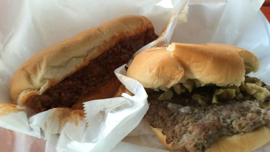 Allegan, มิชิแกน: Olive Burger and Chili Dog