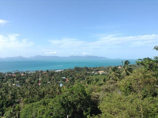 Jungle Emerald Rock: Вид со второго этажа, остров Панган