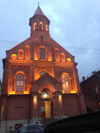 Концертный зал Яани Кирик: Лютеранская церковь Святого Иоанна