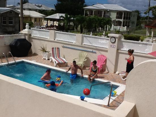 Maxwell, Barbados: Pool area