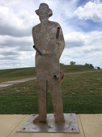 Detroit RiverFront: Art along the way