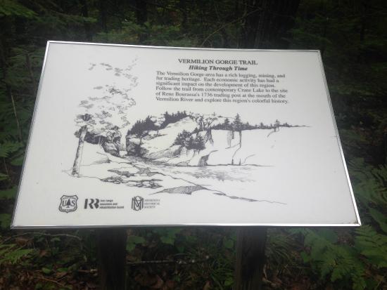 Crane Lake, Minnesota: Vermilion Gorge Trail