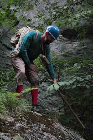 Grisons, Schweiz: Erwin Dirnberger bei der Viamala Notte
