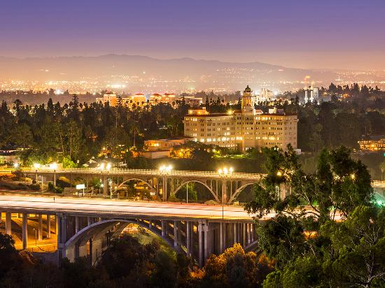 Views of Pasadena's Arroyo Seco, Colorado Street Bridge, Richard H. Chambers United States Court
