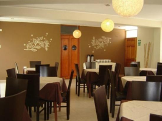 Hotel Belle Sand: Zona de Comedor