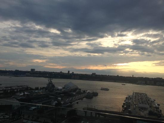 The Press Lounge: Sunset View