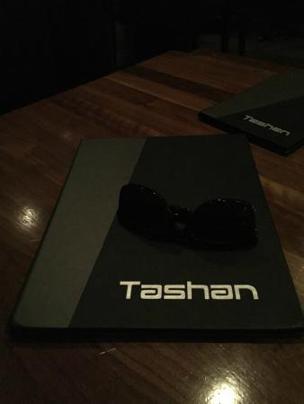 Tashan: Menu